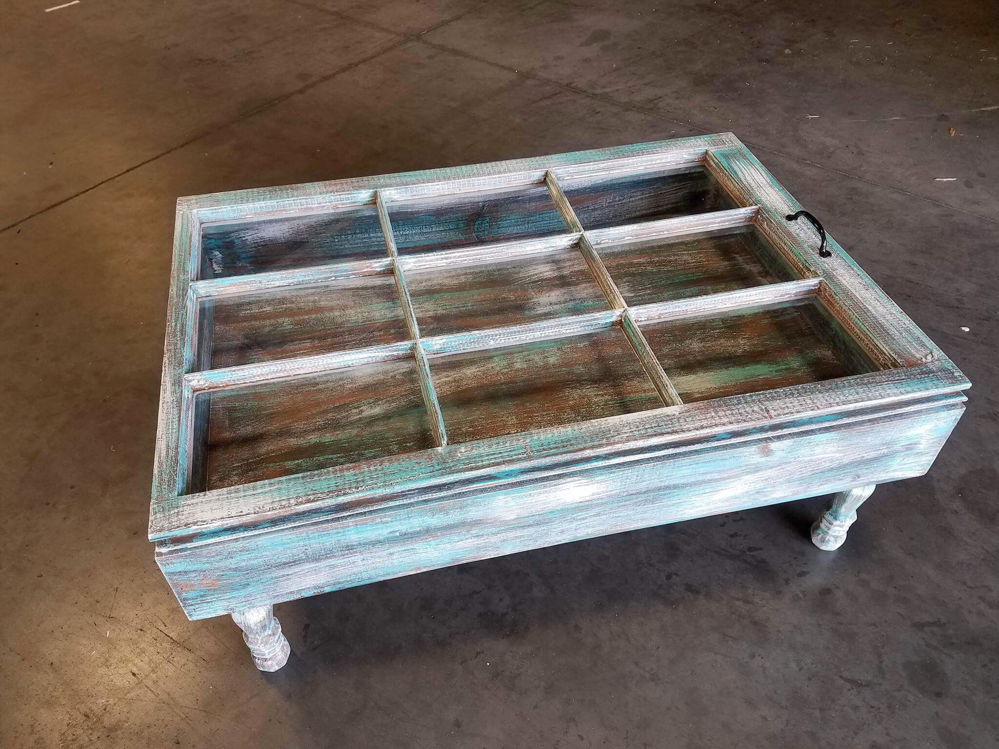 Rustic Window Coffee Table Easy Craft